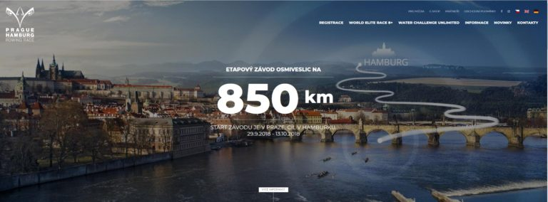 Závod osmiveslic Praha – Hamburg