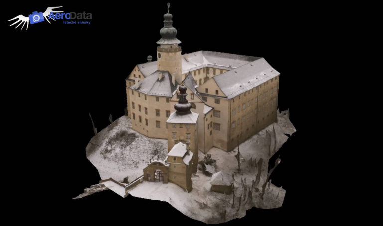 3D model zámku Lemberk