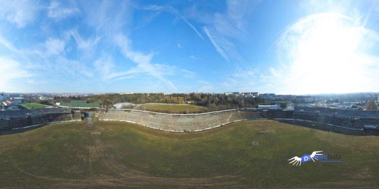 Virtuální prohlídka stadionu Lužánky v Brně